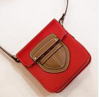 New Camera Bag Fashion PU Shoulder Messenger bag ladies retro mini packet