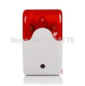 Wired Mini Strobe siren sounder P09(China (Mainland))