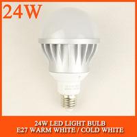 40PCS/lot 15W 24W LED bulb lamp High brightness 5730SMD Cold white/warm white AC85-265V Free shipping