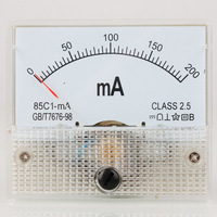 DC 0-200mA Pointer Type Ampere Panel Meter Current Amp Ammeter Wholesale BR RU