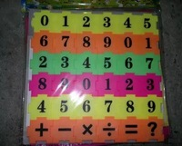 Puzzle digital and add, subtract, multiply and divide children learn mathematics learning plastic toys1111