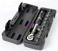 "XITE 1/4""DR 2-14Nm 10 Piece Torque Wrench Bicycle Bike Tools Kit Set Tool Bike Repair Spanner  D367"
