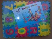 Color foam puzzle alphanumeric combinations of children puzzle 36 pieces puzzle toys wholesale1111