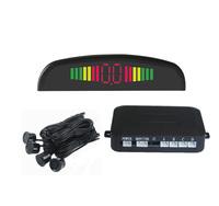 car sensors reversing parking system LED backlight display 4 Sensors 6 colors Free Shipping wholesale