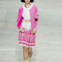 Fashionable Women Short Jacket Plaid Long Sleeve Sashed Suit Elegant Female Outerwear CA17