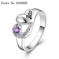 wholesale Jewelry 10pcs/lot R465 925 Silver plated new design finger ring for lady Sterling Silver women rings