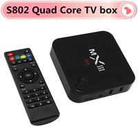 1pc Original MX IIIS802 Quad Core Android 4.2 TV Box 1G RAM 8G ROM WiFi Sports Fully Loaded Google TV Box HDMI