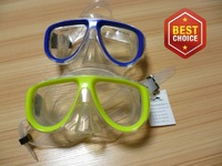 Inexpensive! 2014 spring new women/men sorkeling athletic equipment adult blue diving mask  M-231(A)