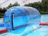 High quality PVC material water games inflatable water roller for sale
