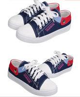 2014 spring and autumn new canvas shoes flat low help running canvas lady shoes students shoes