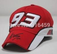 Locomotive Motocross Marc 93 F1 racing cap baseball cap Motorcycle driver cap snapback hat Red black Motor Gp Drop shipping