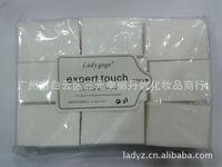 10X500pcs Lint Free Nail Wipes Cotton Pad Gel Acrylic Tips Remover nail polish remover,soak off gel polish cotton500pcs/bag, 11