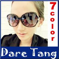 Black Classic Big Square Frame Cat Eye Glasses 2014 New Vintage Fashion Summer Cool Sunglasses Women Brand Designer 031