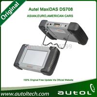 [Authorized Distributor]2014 Original Autel MaxiDAS DS708 update via internet full set Autel DS 708 Automotive Diagnostic System