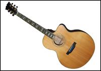 Cheap Acoustic Guitar sunburst color FOR SALE