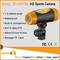 Free Shipping FULL HD 1080P Sport Camera Action Waterproof 20M Video Recorder HDMI TV OUT Helmet Bike Diving DV DVR