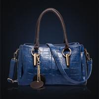 2014 Fashion Embossed Shoulder Bag New Women Stone PU Leather Handbag Vintage Female Crossbody Bag Large Capacity Tote Hot Sale