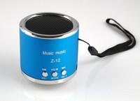 Z-12 Column Mini Portable Speaker Loudspeakers Subwoofer Boombox Dancing Music Box Mp3 Player Support TF Card,FM Radio