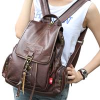 2014 new wave of Miss shoulder bag travel backpack bag women college students wind