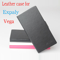 2014  Luxury Slim Flip wallet bag leather case for Explay Vega Mobile Phone Cover holder function CASE 3 Colors Free shipping