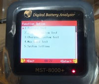 ST-8000+ car digital Battery Analyzer with LCD screen- update version of SC-100