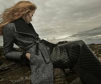 Winter 2014 Women Brand Design Elegant Long Sleeve  Warm Wool Coat  140923LI02