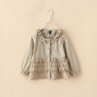 Girls Casual Solid Blouses Fashion Design With High Quality Blouses Children Clothing 6pcs/ LOT