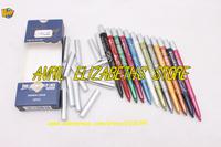 Brand M.N 12 PCS Fashion Color Long Lasting Eye/Lip Liner Pencil Set 0.6 g Free Shipping