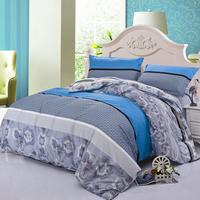 Luxury bedding set 4pcs bedclothes bed linen sets queen king size Quilt duvet cover set bedsheets cotton bedcover FAST ship 47