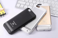 3800mAh External Battery Backup Charger Case Pack Power Bank Rechargeable battery case for iPhone 6 3 Colors Available