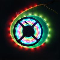 1M 30 Pixels WS2812B WS2811 LED CHIP 5050 RGB Digital LED Strip Light 5V White PCB WP