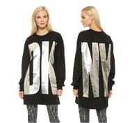 2014 Womens Autumn Winter Ladies Long Sleeve Round Neck Long Design Sport Sweater Fleece Hoodies With Large OK Print