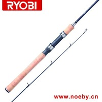 Free Shipping RYOBI spinning fishing rod Carbon Fishing Rod Bass Rod HomBill-S602M Lure Rod