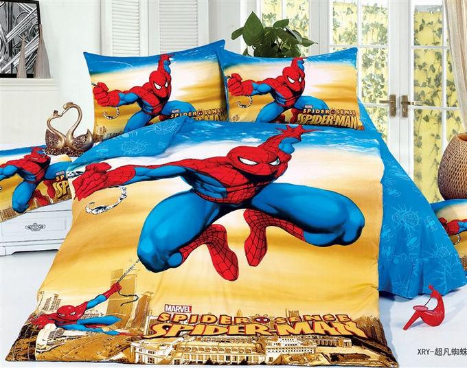 3d spiderman kinder jungen cartoon kleinkind bettwäsche setzt kinder ...