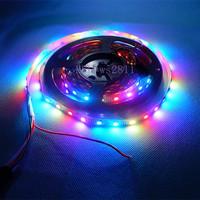 20m 5X4M 60pcs WS2812B/M WS2812B Black PCB LED Pixel Srip Non-waterproof & DC5V