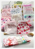wholesale short panties girls underwear briefs panties kitty baby kids pants  children briefs princesses cheap 12PCS/LOT