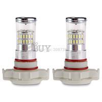 50PCS/LOT  H16 48 LED 3014 SMD Car Fog Turn Signal Brake Reversing Light Lamp Bulb
