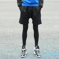 pants men winter sports pants men 2014 fashion slim casual two pieces sweatpant men outdoor neoprene pants hip-hop men Y10484