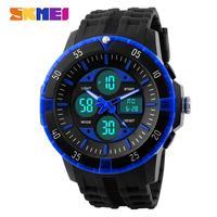SKmei Brand Unisex Casual Sports Watches 50M Waterproof Fashion LED Digital Quartz Watch Multifunctional Dress Wristwatches