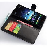 1pcs New arrival luxury wallet leather case for zte nubia z7 max z7max case cover