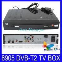 10Pcs DVB-T2 DVB-T TV Set-Top Box Digital Terrestrial Receiver HD USB&HDMI Interface Support MPEG-2/4 /H.264 For Russia European