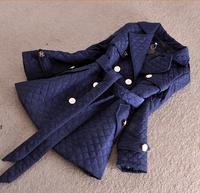 2014 Parkas For Women Winter Coat Jacket Women Outerwear Thick Slim Blue Beige Black Down Jacket Parka Jaqueta Feminina