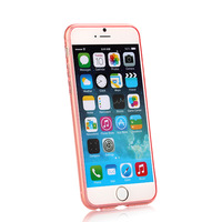 2014 New arrival Lightweight Non-slip Transparent Soft case for iPhone6  free shiping