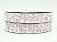 WM ribbon 7/8inch 140916051 22mm with Glitter Printed grosgrain ribbon 50yds/roll free shipping
