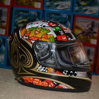 Motorcycle helmet Cross-country motorcycle racing helmet poker full face