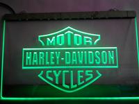 TR007- Harley Davidson Neon Light Sign hang sign home decor shop crafts led sign