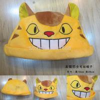 Totoro Bus Cat Anime Cartoon 100pcs/lot Plush Hat Cosplay Hat Cap Warm Winter Hat