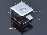 Glass holder, Small,Glass Clamps, hardware, furniture fittings, zinc Alloy,furniture accessories