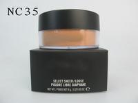 free shipping,top popular MA brand makeup PW307 loose powder,hot sale make up face pwoder loose