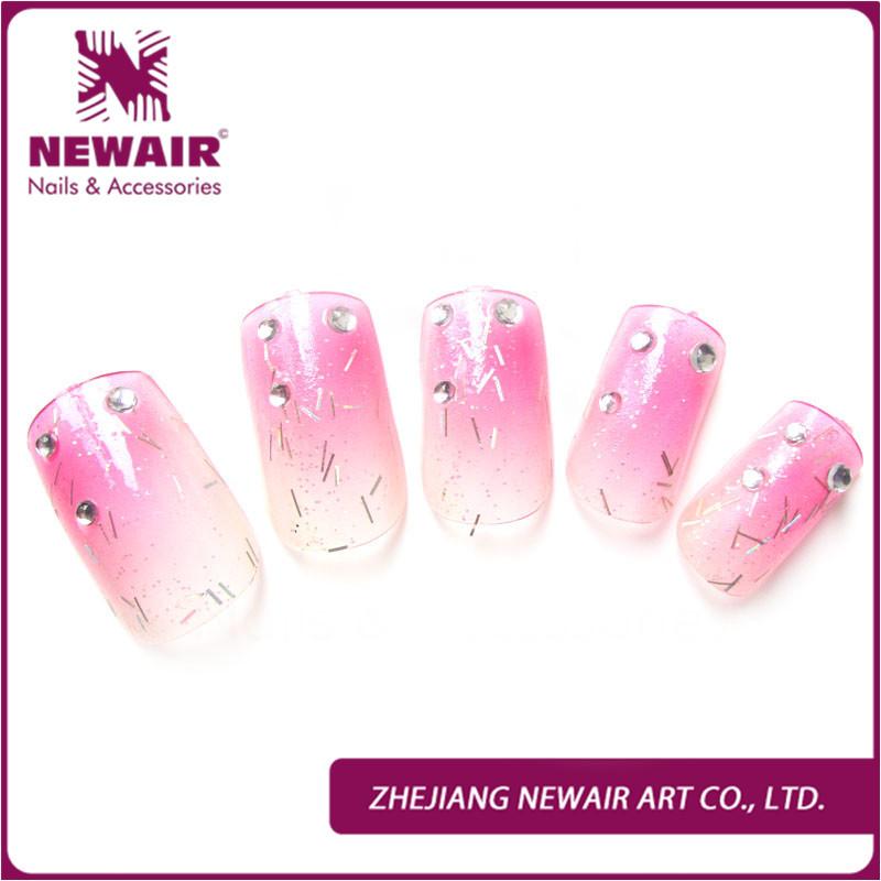 acrylic nails diamonds
